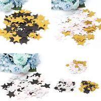 100Pcs Glitter Five Stars Paper Table Throwing Confetti Wedding Party Decor