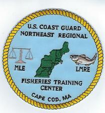 USCG Northeast Regional Fisheries Training Center  (US Coast Guard Patch)