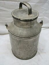 Vintage Co Milk Can Cream Pail Dairy Farm Tool Primitive Decor 6 Qt