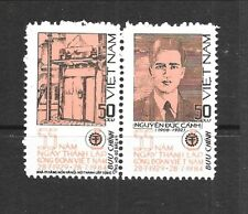 NORTH VIET NAM Sc 1412-17 NH SET+S/S of 1984 - TRADE UNION