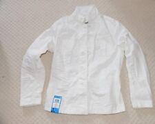New G-Star Mens Crotch 3D Cropped Jacket Blazer Format White Denim 82664C Medium