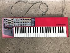 Clavia Nord Lead 2 49-Key Virtual Analog Keyboard Synthesizer w/ S-RAM SoundCard
