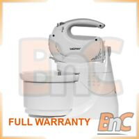 Electric Hand Mixer ZELMER ZHM1265S Symbio +2 BOWLS included 5 Speeds Whisk 400W
