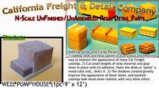 Industrial Well Pump House-Steel Metal N/Nn3/1:160 California Freight & Details