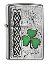 Zippo Feuerzeug Kleeblatt Irish Shamrock Emblem - Katalog 2017 2005097