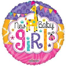 New Baby Girl BALLOON Foil 18 inch Full Colour