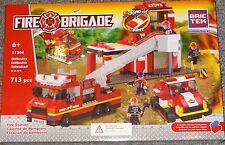 Fire Station BricTek Building Block Construction Toy Brick Fire Brigade Bric Tek
