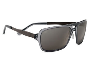 Serengeti 7836 Nunzio Polarized Sunglasses Crystal Dark Gray PHD CPG - EXPRESS