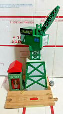 Cranky the Crane Thomas the Train Wooden Railway With Office Magnetic Rare