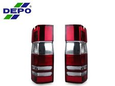 DEPO 07-10 Dodge Sprinter Freightliner Red/Clear Replacement Rear Tail Lights