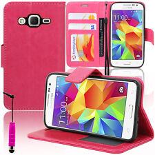 Case Cover Wallet Video Samsung Galaxy Core Premium 4G SM-G361F G360F