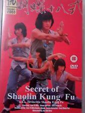 SECRETS OF SHAOLIN KUNG FU  DVD