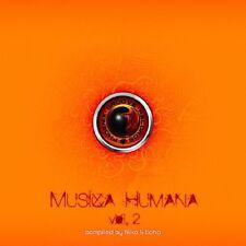 Musica humana 2 CD NUOVO audiophonic/sensogram/MR suspect/Estefano Haze