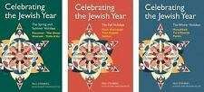 Celebrating the Jewish Year, 3-volume set: By Steinberg, Paul