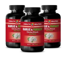 natural antioxidant - GARLIC & PARSLEY 600MG - immune strengthening 3B