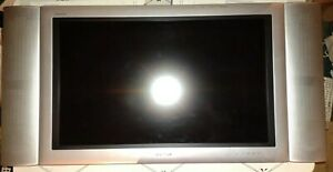 """Rare 2003 Sharp Aquos 30"""" LCD Display, AVC System, Remote & Exclusive Speakers"""