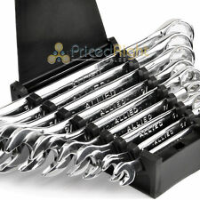 """Combination Wrench Set SAE 9 Pc Piece Standard 1/4"""" 3/4"""" Box End Allied 89084"""