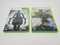Darksiders I & II Xbox 360 Video Game Bundle  Tested Great Condition!
