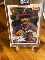 2020 Topps Archives Signature Series Luis Tiant AUTO #/37