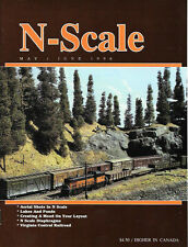 N-Scale May 96 Lakes Ponds Barn Conversion Waffle Side Box Cars Con-Cor GP30