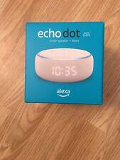 Amazon Alexa Echo Dot  With Clock Empty Box Only