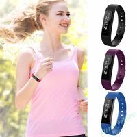 Sports Fitness Tracker Waterproof Smart Watch Bangle Activity Pedometers Gift