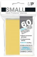 Ultra PRO Small Deck Protector Sleeves Card Size YELLOW 60ct 62 x 89mm
