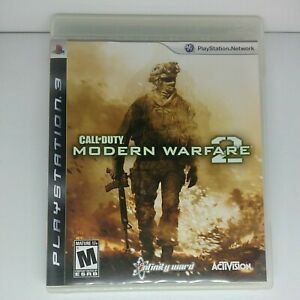 Playstation 3 PS3 Call of Duty Modern Warfare 2 Case Manual Artwork Free Ship
