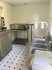 USED FOOD CONCESSION TRAILER