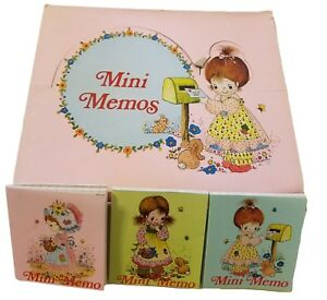 Lot 12 New Vtg 1980's Mini Memo Notebooks Teacher School Gifts Stocking Stuffers