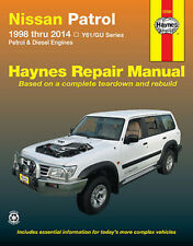 Nissan Patrol Y61/GU Petrol & Diesel 1998-2014 Workshop Repair Manual HA72761
