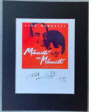 Liza Minnelli Signed Autograph Photo Display - Vincente Minnelli, RARE, Broadway