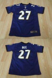 Youth Baltimore Ravens Ray Rice M (10/12) Jersey Nike (Purple) Jersey