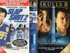 SLAP SHOT 2 - Breaking The Ice - VHS -Time Coded -Video dealer Preview tape -PAL
