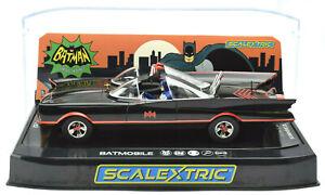 Scalextric Batman - 1966 TV Series Batmobile DPR W/ Lights 1/32 Slot Car C4175