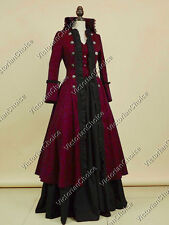 Victorian Military Game of Thrones Christmas Dress Steampunk Theater 176 XXXL