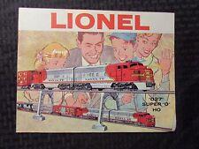 1960 LIONEL TRAIN Catalog Magazine VG/FN 5.0 027 Super 0 HO 56pgs