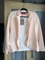 Boohoo Blush Blazer Jacket Size 8 New Tags