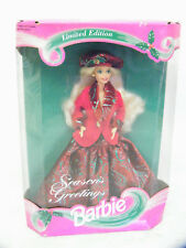 Mattel Limited Edition 1994 Season's Greetings Barbie, Doll #12384
