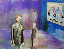 EXPRESSIONIST - IN DER GALERIE - ART EXHIBITION - AUSSTELLUNG - UM 1950