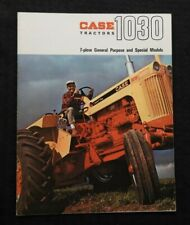 "1966 CUSTODIA 1030 1031 1032 TRACTOR 7-PLOW & SPECIAL PURPOSE"" BROCHURE NICE"