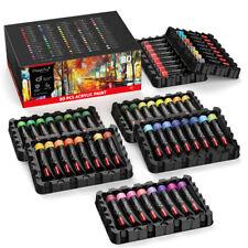 Magicfly 80PCS Acrylic Paint Set Wide Application Pigments Paints Student Artist