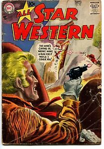 1957 All Star Western #96 ~The Mine's Caving in Wayne!~ (Grade 3.5) WH