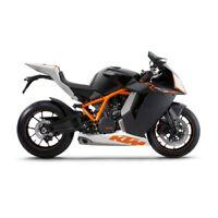 Bburago 51030 KTM 1190 RC8 R Scale 1:18 Model Motorcycle New! °