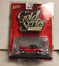 1967 Pontiac Firebird 400 * RED * Johnny Lightning GOLD Series * NE4
