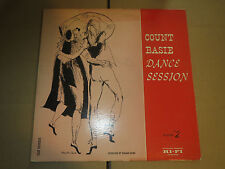 33RPM Clef MG C 647 Count Basie Dance Session Album #2 w DSM art nice V+ to E-