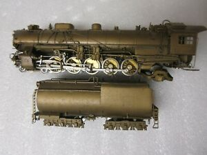 MODEL RR HO BRASS UNION PACIFIC LOCO & TENDER OVERLAND MODELS 4-10-2 5090 CLASS