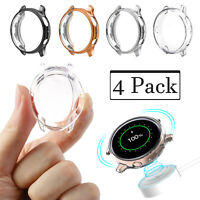 4 Pack For Samsung Galaxy Watch Active 2 40 44mm TPU Screen Protector Case Cover