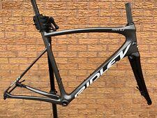Ridley Fenix SLX freno de disco de Carbono Bicicleta de Carretera Marco cuadro y horquilla-Gris Perla