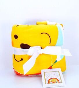 "Disney Baby Winnie the Pooh Baby Blanket Baby Shower Gift Rainbow Cotton 40""x30"""
